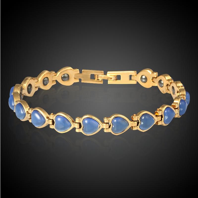 HOMOD Μαγνητική βραχιόλι χάντρες Hematite - Κοσμήματα μόδας - Φωτογραφία 4