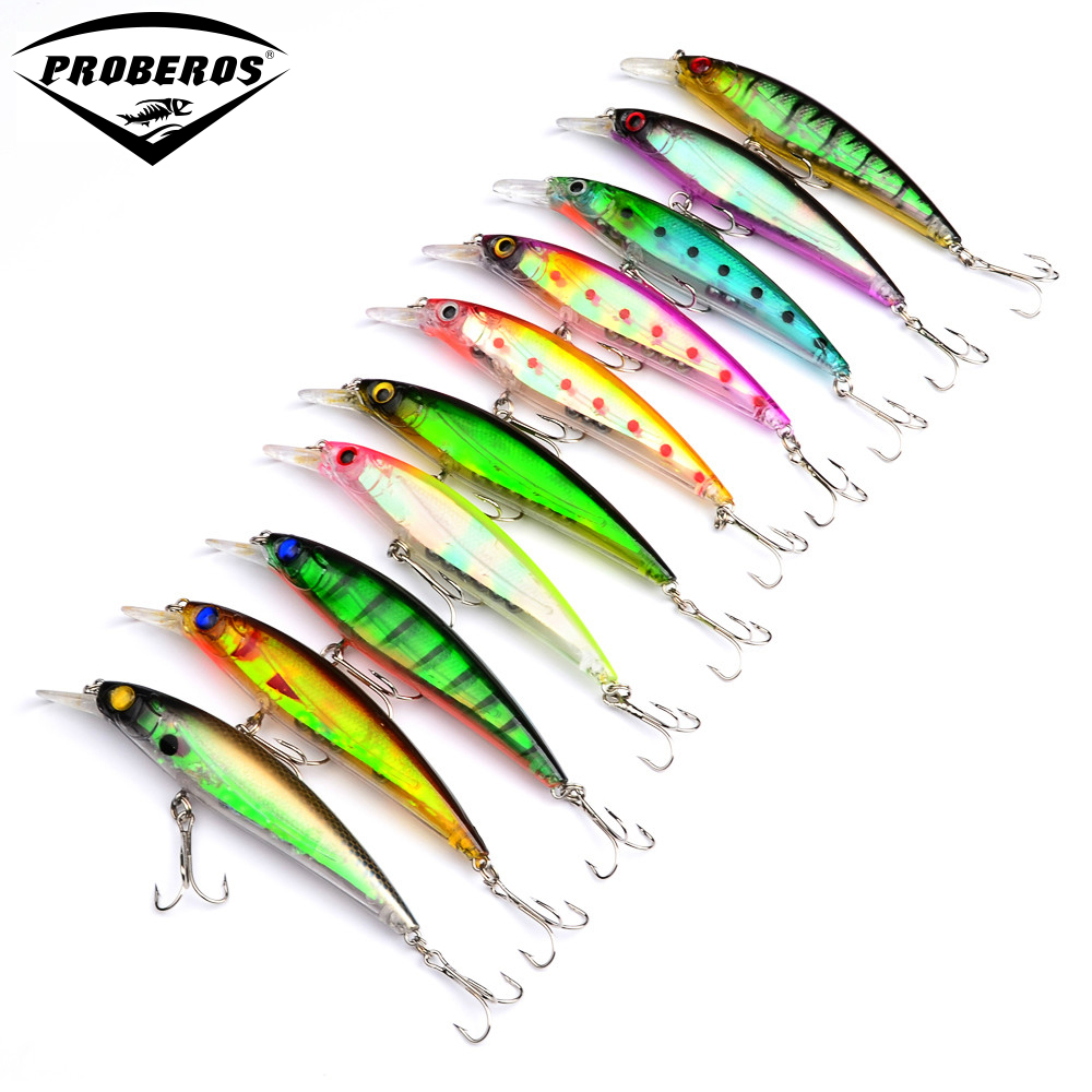 Buy new 2015 top minnow fishing lures 10 for Fish bait store