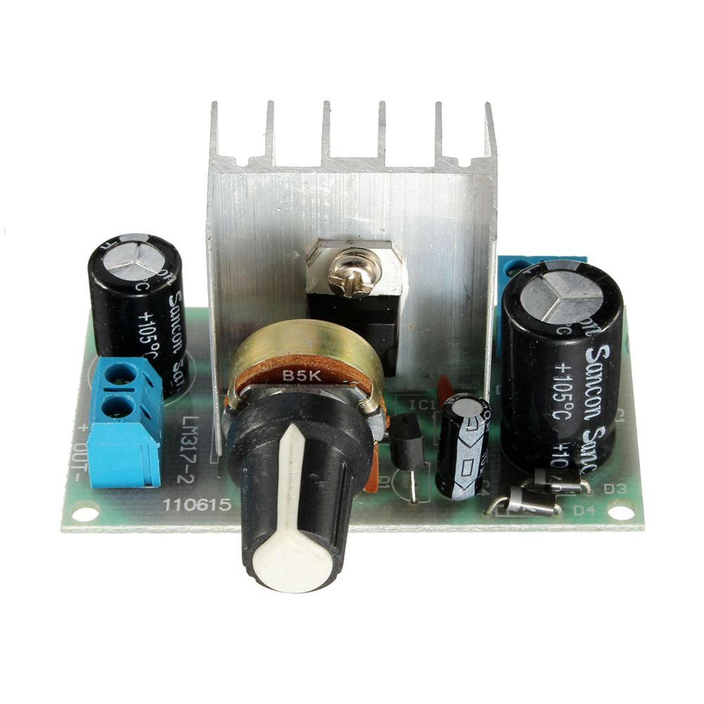 Hot Sale LM317 AC/DC -DC Adjustable Voltage Regulator Step-down Power Supply Module BoardHot Sale LM317 AC/DC -DC Adjustable Voltage Regulator Step-down Power Supply Module Board