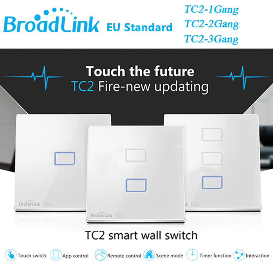 Broadlink TC2 EU Switch 1Gang 2Gang 3 Gang Touch Switch Smars