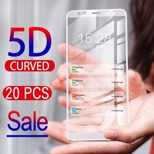 20pcs/Lot 3D Full Coverage Tempered Glass Screen Protector For Samsung Galaxy Note 10 Pro 9 8 S10 S10e S9 S8 Plus S6 S7 edge(China)