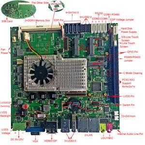 Image 5 - La scheda madre industriale Intel di vendita calda supporta il processore Intel Core I3/I5/I7 integrato 2 * scheda madre mini itx LAN
