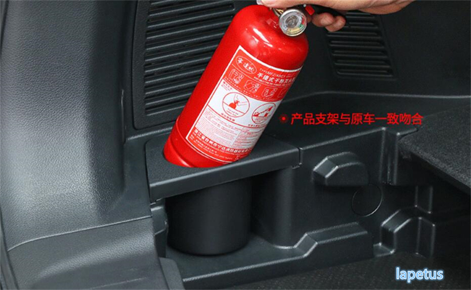 For Nissan X-Trail X Trail T32 Rogue 5 Seat Model 2017 2018 Auto Car Styling Fire Extinguisher Cup Holder Frame Cover Trim 1 Pcs