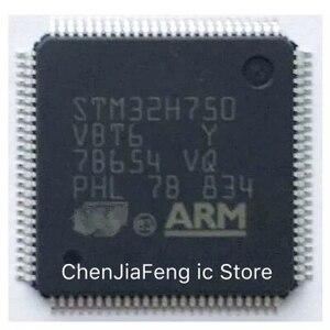 Image 1 - 2 قطعة ~ 10 قطعة/الوحدة STM32H750VBT6 QFP100 جديد الأصلي
