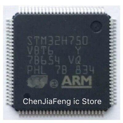 2 قطعة ~ 10 قطعة/الوحدة STM32H750VBT6 QFP100 جديد الأصلي