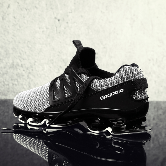 9ef42bfb6d3f Men Sneakers Authentic Ultras Cool Springblades Outdoor Boost Knitted  Breathable Blades Fly Comfortable Athletic Running Shoes