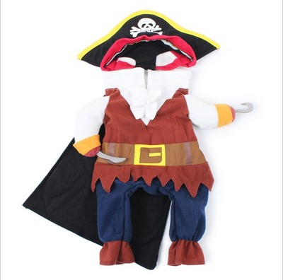 b1f9fd04a96c Αστεία κοστούμι γάτας Pirate κοστούμι Ρούχα για γάτες Corsair ...