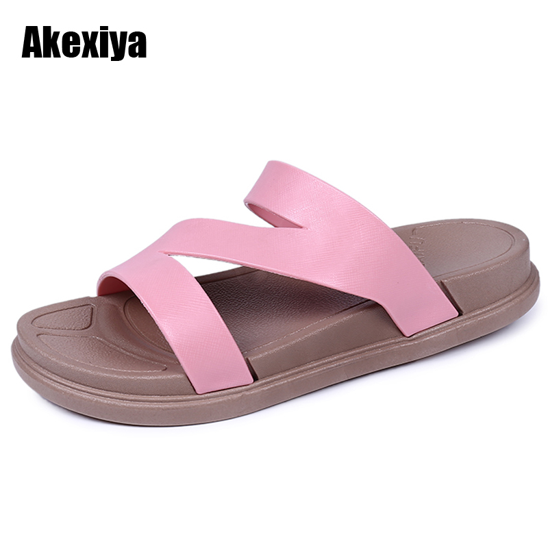 2018 New Summer Beach Cork Slipper Flip Flops Shoes Women Solid Casual Slides Shoes Flat with Plus Size M623 covoyyar 2018 fringe women sandals vintage tassel lady flip flops summer back zip flat women shoes plus size 40 wss765