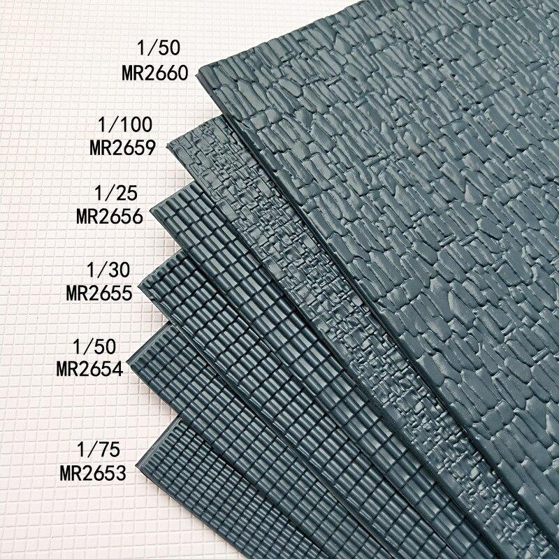 200*300mm DIY Manual Material Sand Table Model Construction Roof Tiles PVC PVC Culture Stone Archaize Building Roofing Tiles