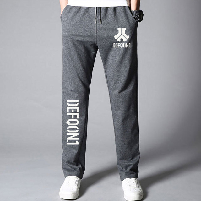 New Autumn Mens Joggers Defqon 1 Fitness Casual Joggers Sweatpants Bottom Music Concert DJ For Cool And Fashion Pants For Men 1