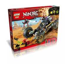 2016 Nuevo 06032 4 LEPIN 443 Unids Ninja Rock Road Kits de Edificio Modelo Bloque Minifigure Ladrillos DIY Juguetes Regalo