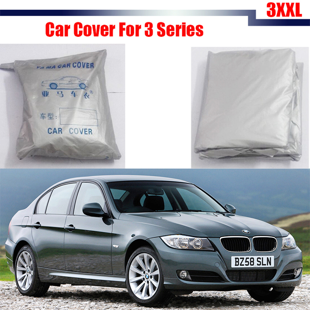 Car-Cover Sun Rain Snow Resistant Cover Sun Shade Anti-UV Car Cover For BMW 3 Series