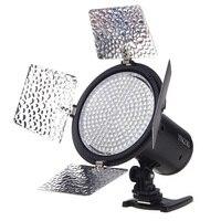 למעלה עסקות YONGNUO YN216 3200 K-5500 K וידאו אור LED מצלמה לירות עם 4 צלחות צבע עבור Canon מצלמה DSLR של ניקון