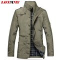 LONMMY M-5XL Spring jacket men jackets for men coat jaqueta masculina trench coat casual jacket men clothes casacos Thin 2016