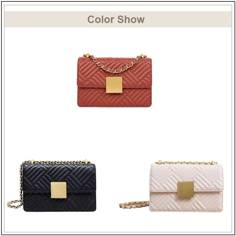 AVRO jest MODA marka prawdziwej skóry torby na ramię dla kobiet 2019 luksusowe torebki kobiety crossbody torby mały kwadrat messenger torby w Torebki na ramię od Bagaże i torby na  Grupa 3
