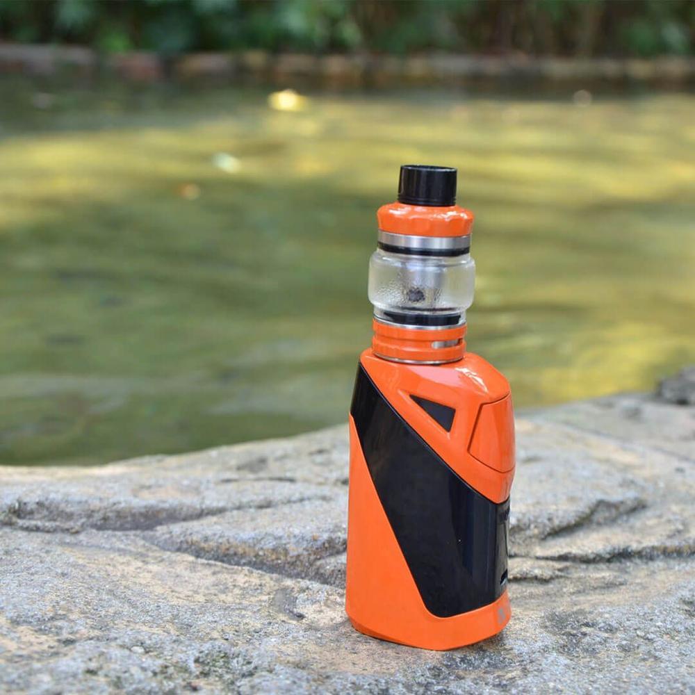 electronic cigarette 50w Vape kit Ironclad 6.0ml Kit 2600mah Built In battery vape atomizer 0.2ohm coil head top filling tank