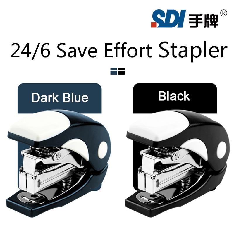 Taiwan SDI 24/6 Manuelle Mini Hefter Sparen Aufwand mehr als 50% handheld Antibakterielle material 1116C
