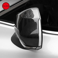 ABS Car Style Rearview Mirror Decorative Cover Protective Cap Decor Sticker for Toyota Camry 2018 Car Exterior Accessories 2pcs