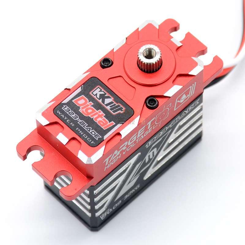 KKPIT HV CLS 1323 Blade ดิจิตอล 70 กรัมโลหะ servo กันน้ำ 32kg. cm แรงบิดสำหรับรถยนต์ RC-ใน ชิ้นส่วนและอุปกรณ์เสริม จาก ของเล่นและงานอดิเรก บน   3