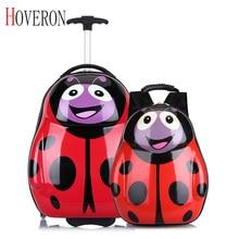 Новые детские Дорожная сумка на колесиках чемодан с колесами для детей чемодан на колесиках детский сумки для путешествия рюкзак