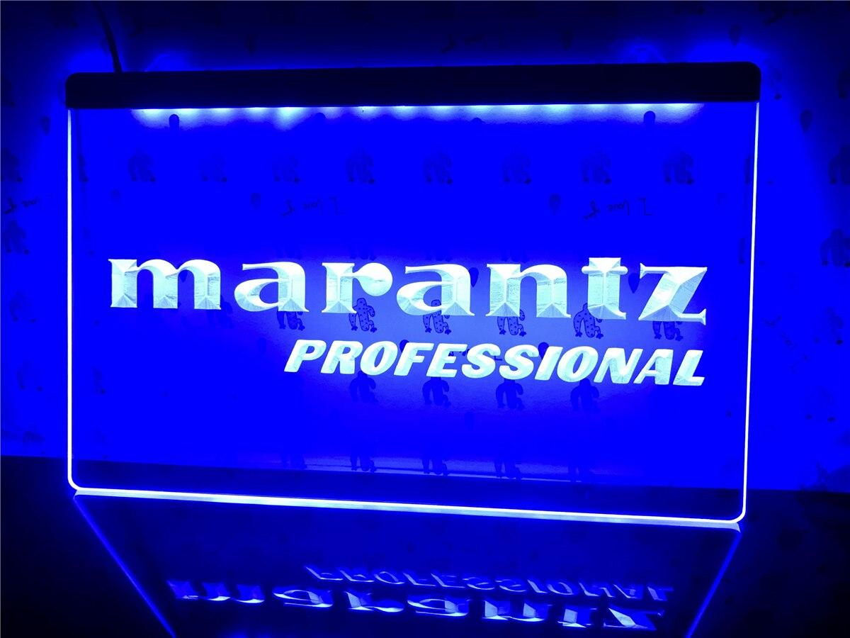 K074 Marantz Professional Audio Theater led Light Sign|Plaques & Signs| - AliExpress