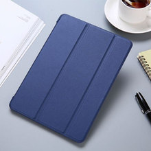 YWEWBJH For iPad 2017 2018 9.7 Case Cover PU Leather Silicone Soft Back Auto Sleep Smart for Air 1 2