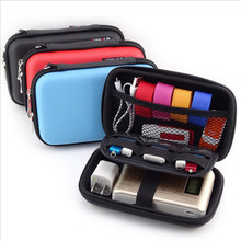 Mobile Kit Case High Capacity Storage Bag Digital Gadget Devices USB Cable Data Line Travel Insert Portable Digital Data Packet