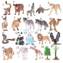 Realistic Animal/Tree Model Figurine Action Figures Kids Playset Educational Toy Collectibles Gift