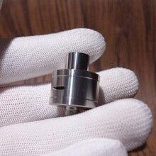 Coppervape Hoàng Gia Atty DB Phong Cách RDA 22Mm Rebuildable Nhỏ Giọt Atomizer Bạc Với BF Mini RDA Cho Squonk Mod