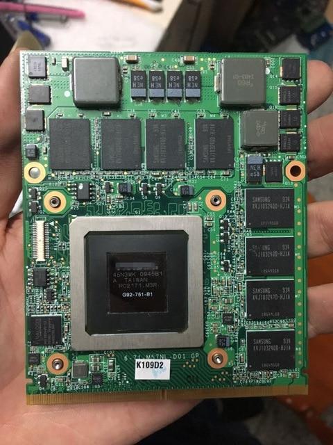 for C l e v o W86cu W860cu W860tu M860tu Laptop Graphics Video Card n V i d i a Geforce GTX 280M GTX280M 1GB GDDR3 Optical Case est for a c e r aspire 5920g 5920 5520g 5520 mxm ii ddr2 1gb graphics vga video card replace n v i d i a geforce 9650m gt