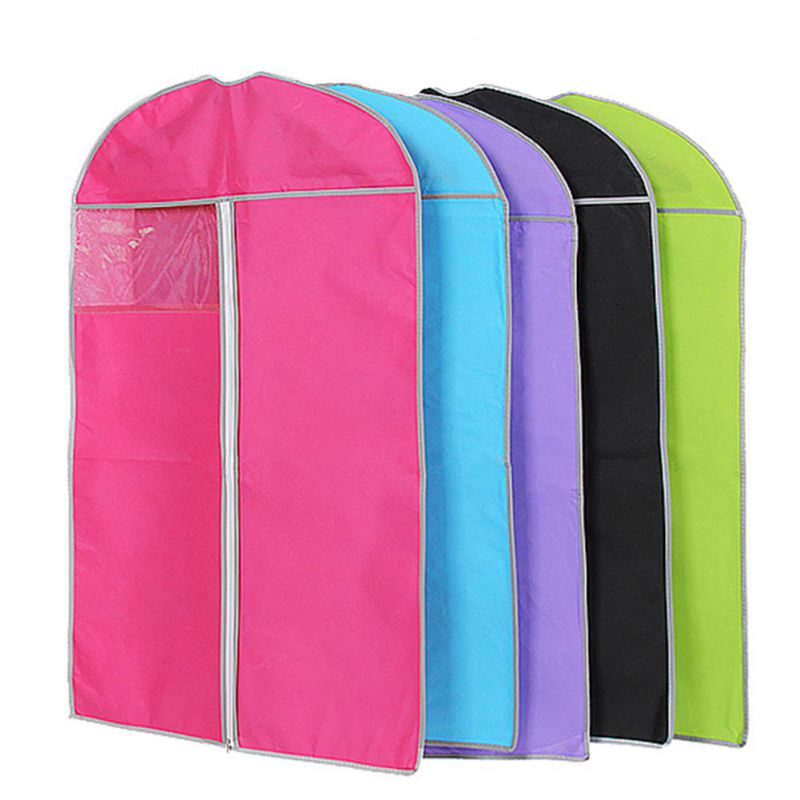 Thicken Non-woven Clothes dust cover Moisture Proof Organizator Bag dust bags Clothes Protector Case Home Storage Organization