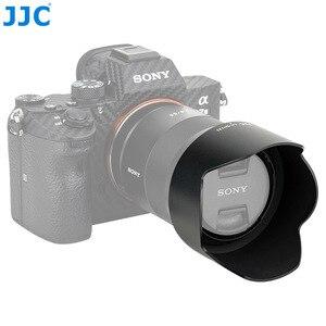 Image 1 - JJC LH SH131 Pétala estilo Capa de Lente Para Sony Sonnar T * FE 55mm f/1.8 ZA, sonnar T * E 24mm f/1.8 Lente Substitui Sony ALC SH131 ZA