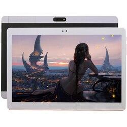 Google Android 7.0 System operacyjny 4G LTE Ten rdzeń 10.1-Cal Tablet PC 4GB pamięć 32 GB nauka Tablet PC Plus skórzany pokrowiec