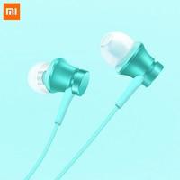 100 Original Xiaomi Mi Earphone Piston Fresh Version In Ear 3 5mm Colorful Earphones With Mic
