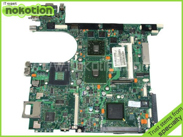 все цены на NOKOTION 416903-001 laptop motherboard for HP COMPAQ NX8220 NC8230 series INTEL 915PM with graphics card ATI 9800 DDR2 онлайн