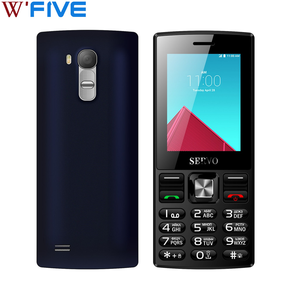 "SERVO V9300 2.4 ""screen Mobile phone Dual SIM Cards cellphone Bluetooth Flashlight"