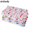 [simfamily] 1Pc Muslin 100% Cotton Baby Swaddles For Newborn Baby Blankets colorful Gauze Bath Towel