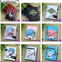 Wholesale 2017 New Cartoon Small Wallet Zipper Wallet Coin Pocket Mini Cute Japanese Anime Fold Wallet