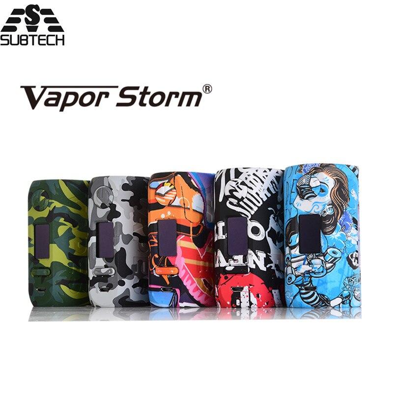 100% original vapeur Storm Storm230 dérivation 200 W VW TC boîte Mod fit 18650 batterie coloré électronique Cigarette boîte Mod Vapes
