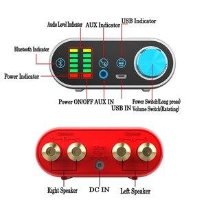 Image 3 - HIFI TPA3116 Bluetooth 5.0 Stereo Digital Power Amplifier Board 50W*2 with Audio Indicator Music Spectrum