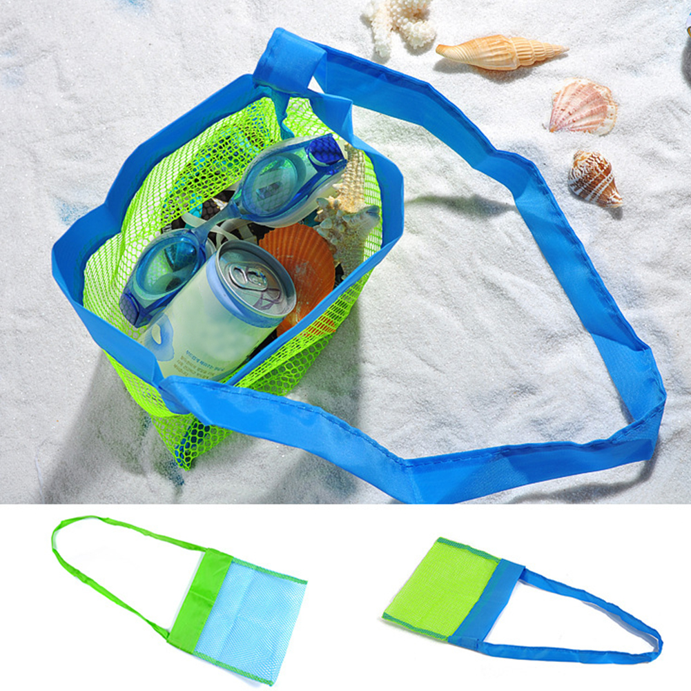 Organizer Water Fun Mesh Bag Swimming Fashion Carrying Portable Multipurpose Kids Beach Outdoor Practical Toy Storage