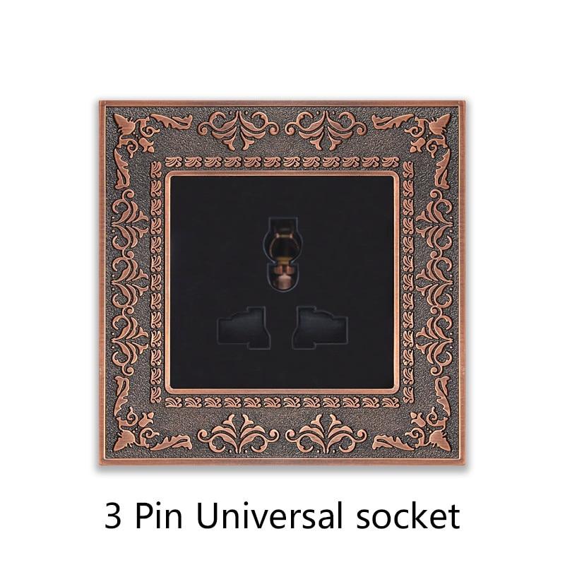 3 Pin Universal socket