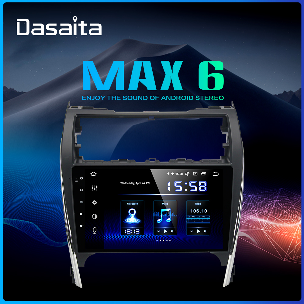 Dasaita 10 2 IPS Car Android 9 0 1 din Player for Toyota Camry 2012 2013