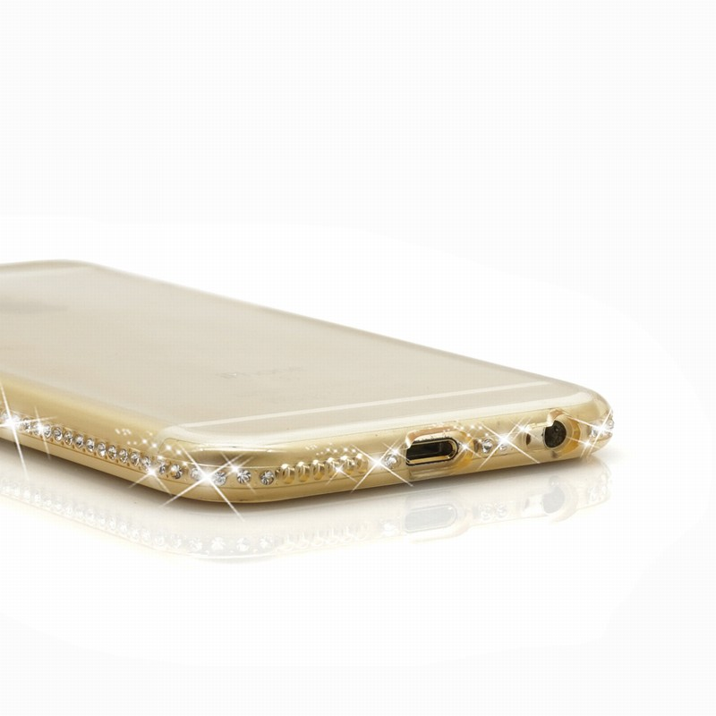 For Coque iPhone Paillettes For iPhone 6 Cases 7plus 5 S 5S SE housse telephone Luxury transparent etui Mobile Phone Accessories (11)