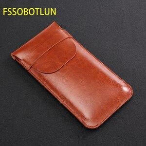 Image 2 - FSSOBOTLUN, pour Samsung Galaxy s8 s9 + note10 + NOTE 9 note 8 pochette étui fait main étui de protection complet avec couvercle