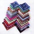 Pañuelo 100% de satén de seda Natural para hombre del pañuelo de moda banquete de boda Classic Pocket Square # b1