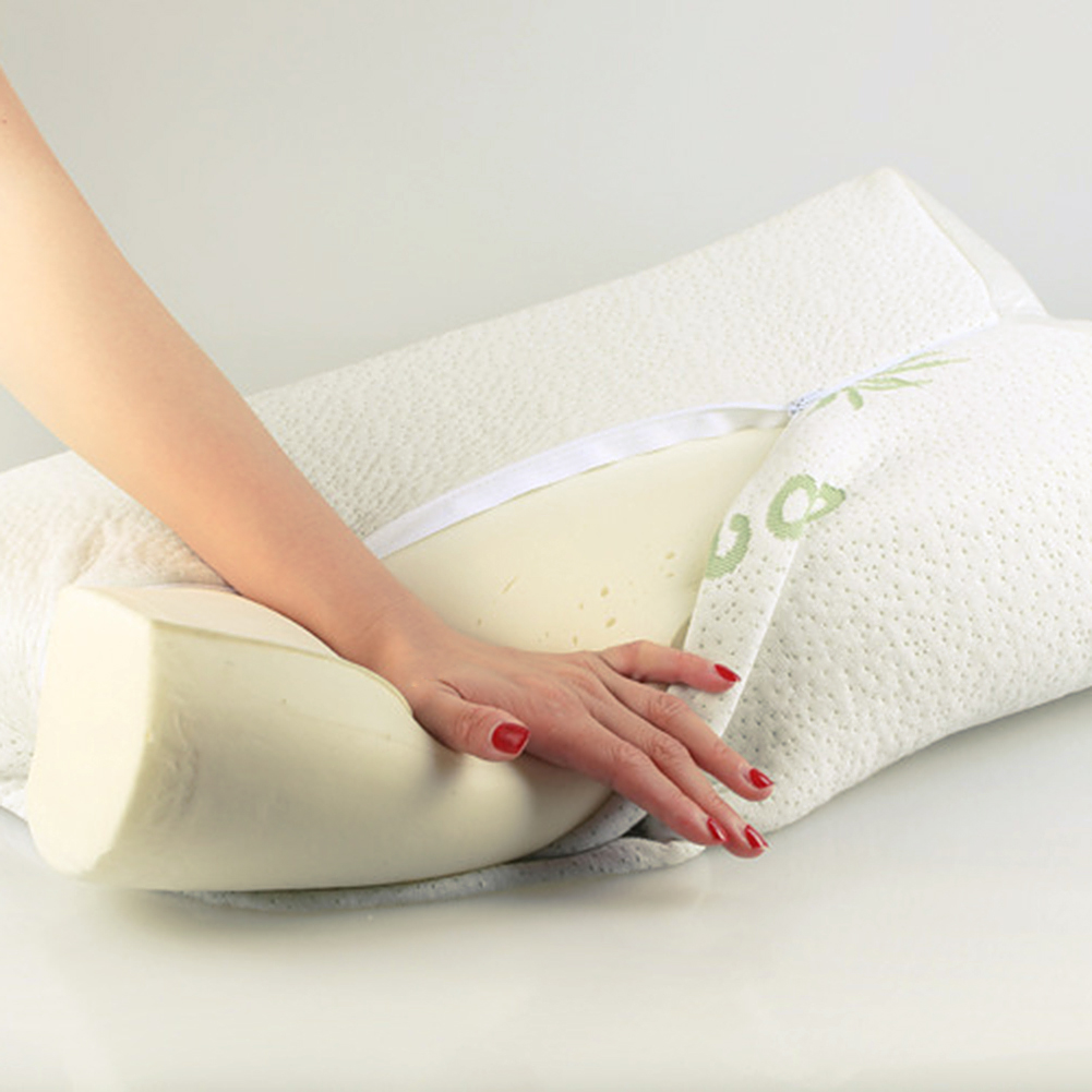 support the chiropractic comfort memory pain pillow best back for traction pillows foam cervical neck orthopedic