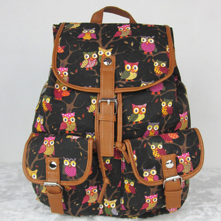 Owl Backpack Pattern Promotion-Shop for Promotional Owl Backpack ...
