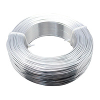 Aluminum Wire Silver 2mm In Diameter About 50m Roll
