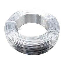 Pandahall алюминиевый провод Craft Изготовление ювелирных изделий 2 мм в диаметре, около 50 м/roll